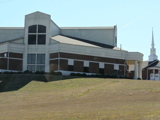 The newest sanctuary at Generostee Baptist Church in Starr was completed in 2003, next to one from 1992, right, on top of a hill off of S.C. Highway 187 near S.C. 412.
