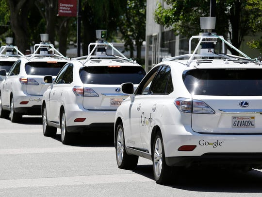Google's self-driving cars.