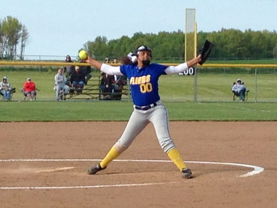 Clyde's Adriana Sanchez is on the Northwest District roster for the Underclassman Fastpitch Softball tourney.