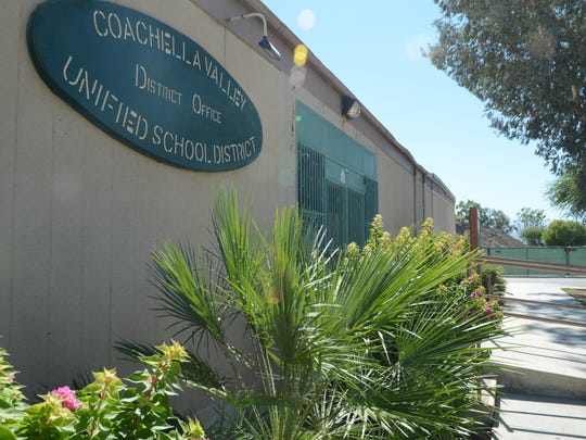 Coachella Valley Unified School District offices in Thermal.