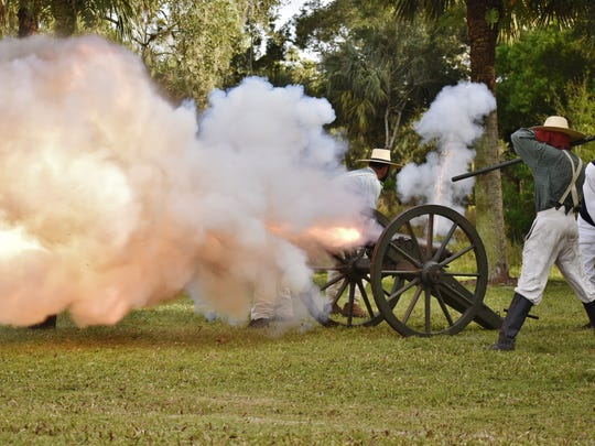 The 180th Anniversary Battle of the Loxahatchee Reenactment