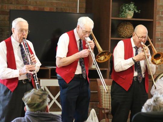 Dalton Love, Ken Hayden and Al Hart, of the Elders