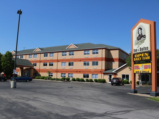 Commodore Perry Inn and Suites, west of the lift bridge, has experienced a 75 percent reduction in sales since the bridge closed in October, according to the hotel's manager.