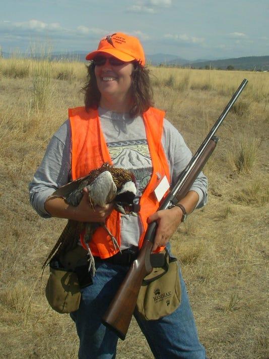 SAL womens pheasant hunting