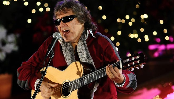 Jose Feliciano insisted 'Feliz Navidad' has both Spanish and English lyrics 'If I had just done it in Spanish, the (English-speaking) radio stations wouldn't have played it because it was only Spanish,' he says.