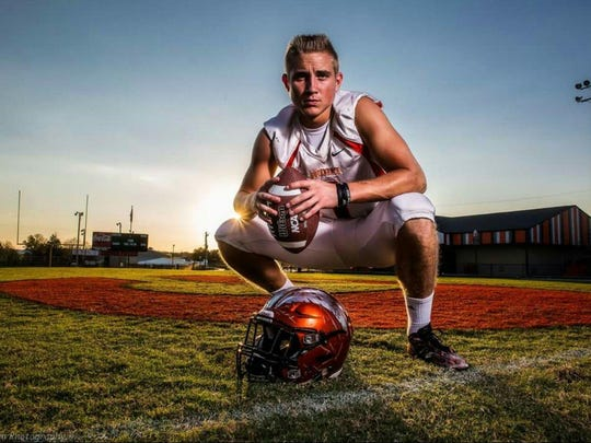 Greenback School senior running back Kayne Roberts was named a Class 1A Mr. Football Back of the Year finalist on Nov. 15, 2016.