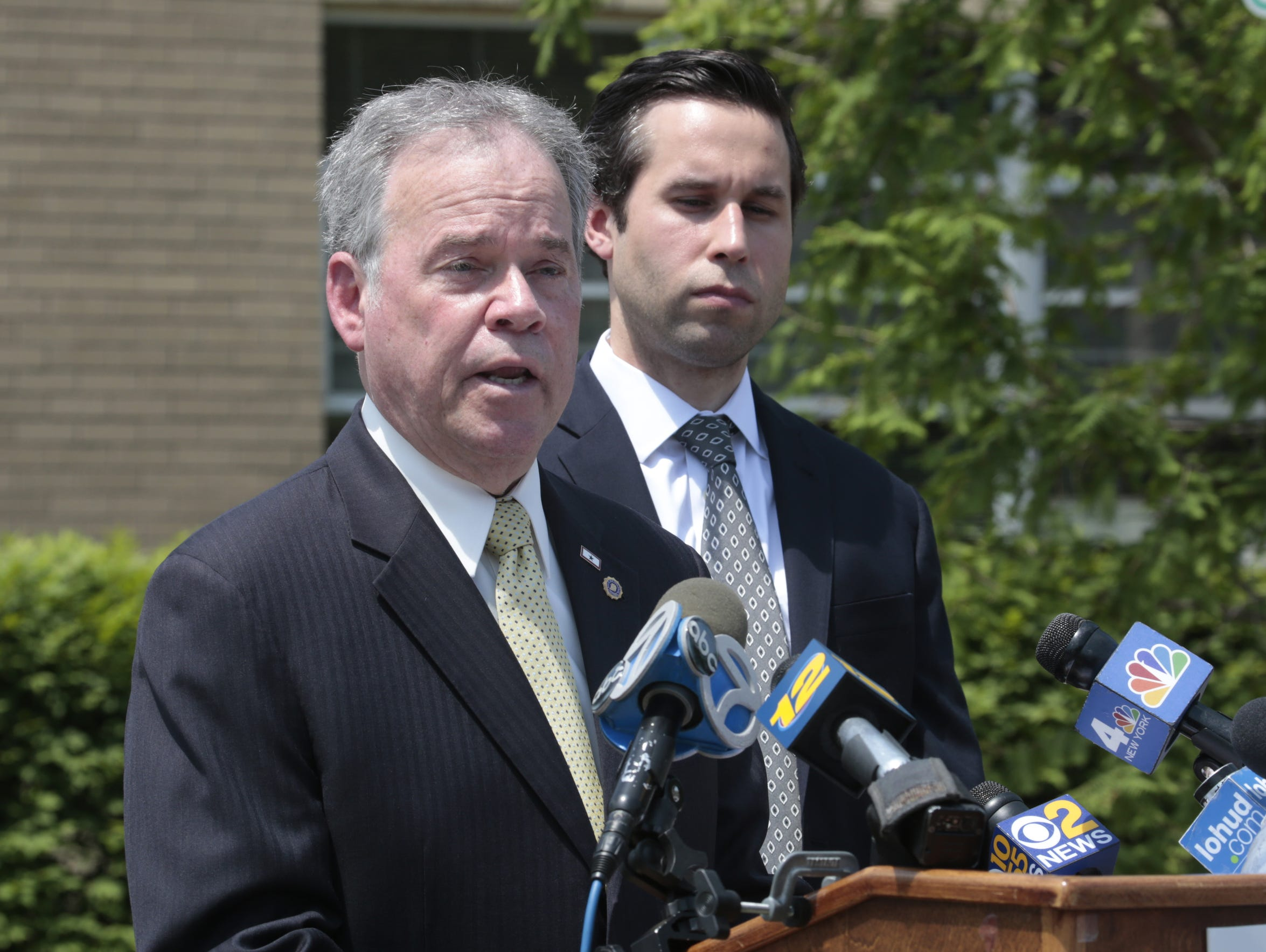 Rockland County Executive Ed Day and Assemblyman Ken