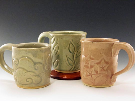 Linden Ceramics offers food-safe and decorative pottery in a wide range of colors, carvings and sizes.