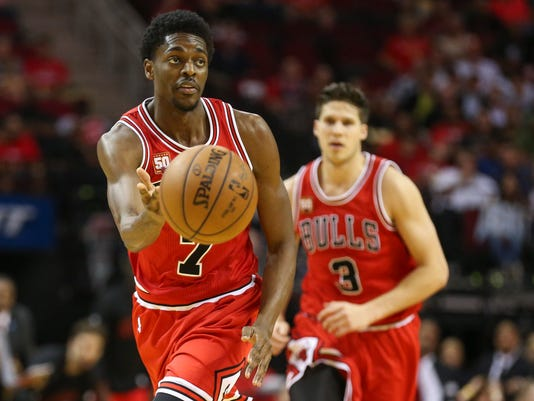 NBA: Chicago Bulls at Houston Rockets