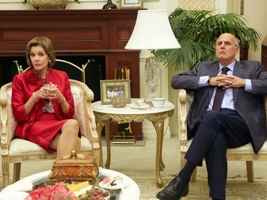"Jessica Walter and Jeffrey Tambor in ""Arrested Development."""
