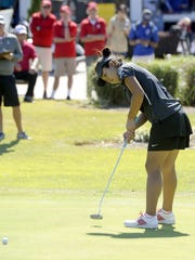 Defending champ Jayna Choi of Houston finished in a