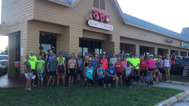 Last week's fun run at Bugnutty Brewing Company on Merritt Island included runners and walkers of all ages.