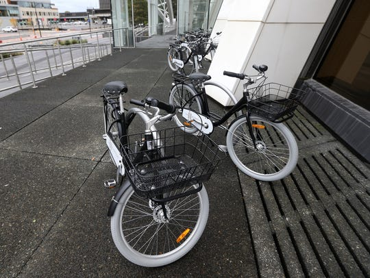 Residents can check out bicycles to enhance urban living.