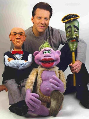 Comic-ventriloquist Jeff Dunham brings his cast of characters to Joe Louis Arena on Saturday.