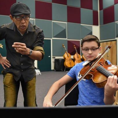 Grammy-winning Latin jazz flutist Nestor Torres works