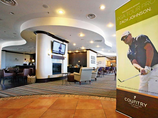 The lobby and restaurant area of the Country Inn and Suites at 900 Sunland Park was completely remodeled for Tuesday's grand opening.