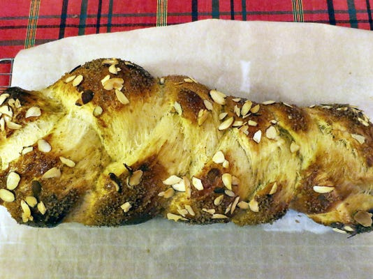 Cardamom bread, or pulla, is a sweet loaf perfect for a holiday breakfast.