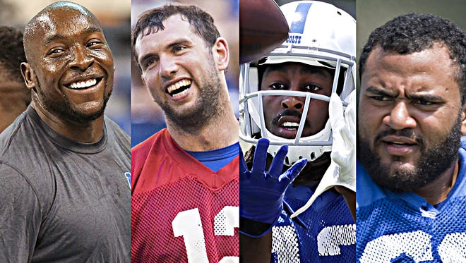 While Robert Mathis, Andrew Luck and T.Y. Hilton all stood out in spring workouts, Hugh Thornton will have plenty to prove come training camp.