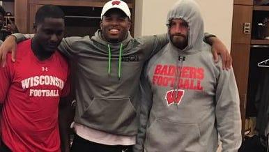 Aaron Burbridge, Marcus Cromartie and Marcus Rush.