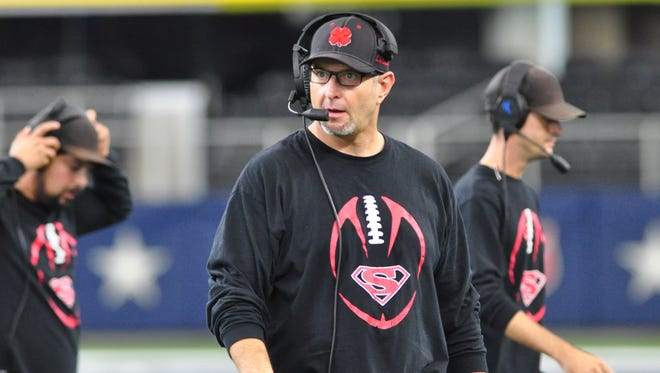 Strawn coach Dewaine Lee coached the Strawn Greyhounds to their third state six-man title in December, besting Balmorhea 78-42 for the Division II state championship game at AT&T Stadium in Arlington.