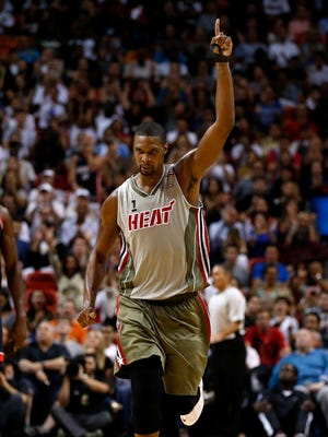 Chris Bosh scored a game-high 23 points for the Heat.