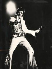 Elvis Presley performed five concerts in Cincinnati