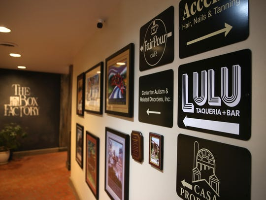 Follow the signs for Lulu located in the Box Factory