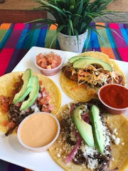 Chanos offers an array of tacos and salsas