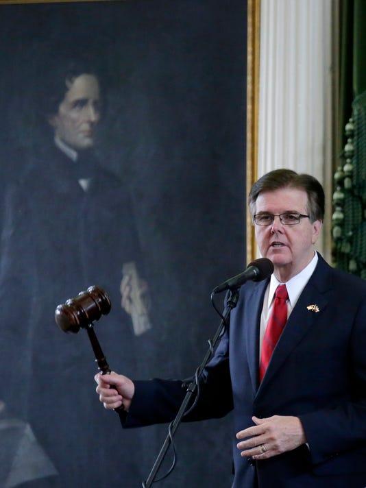 Dan Patrick Texas Legislature