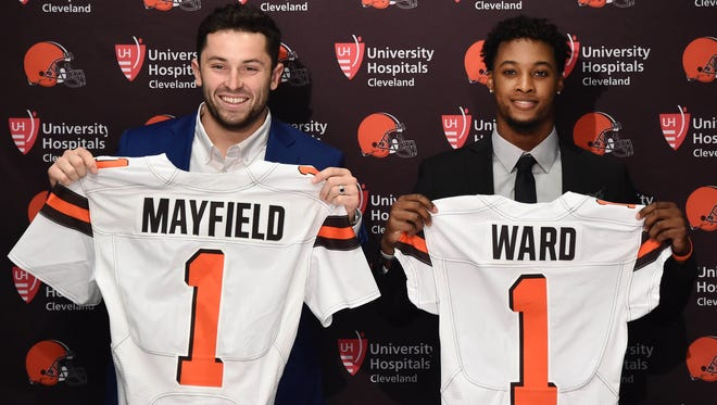 Did the Browns err in taking Baker Mayfield No. 1 and Denzel Ward No. 4 in the NFL Draft?