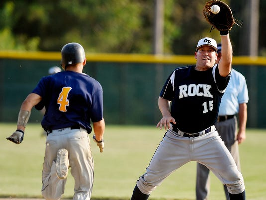 """Glen Rock vs Mount Wolf Central League Baseball"""
