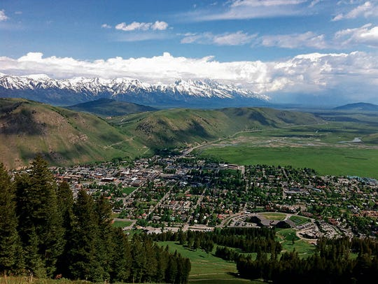 Jackson Hole Valley in Wyoming holds the promise of