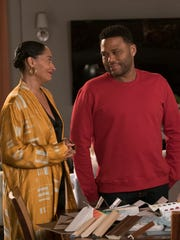 Tracee Ellis Ross, left, and Anthony Anderson star in ABC's 'Black-ish.'