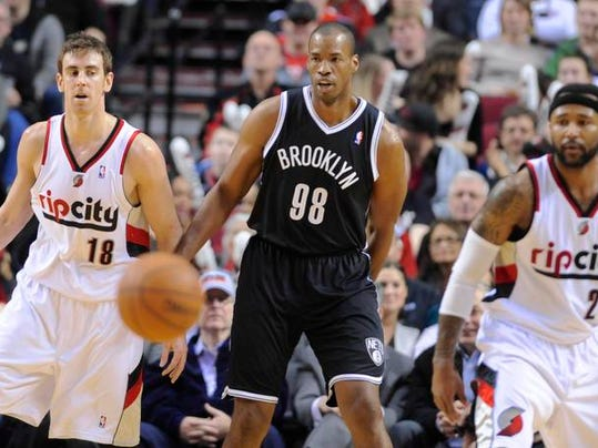 Nets Trail Blazers Basketball