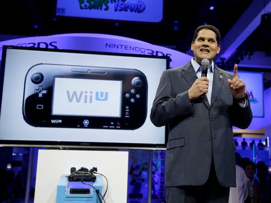 Reggie Fils-Aime, president and chief operating officer of Nintendo of America, talks about Nintendo Wii U during E3 2013.