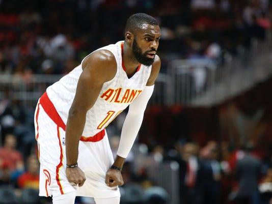 USP NBA: CHARLOTTE HORNETS AT ATLANTA HAWKS S BKN GA