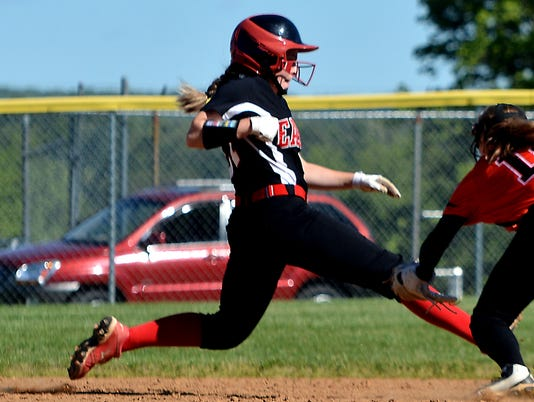 Dover vs Northeastern softball