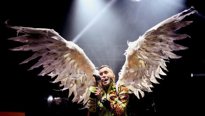 Sufjan Stevens performs  during the 2016 Outside Lands Music And Arts Festival at Golden Gate Park on August 6, 2016 in San Francisco.