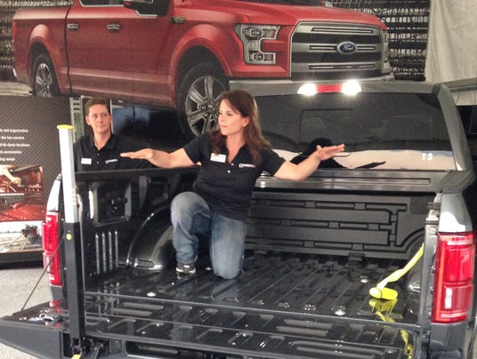 six things we learned about the aluminum body f 150. Black Bedroom Furniture Sets. Home Design Ideas