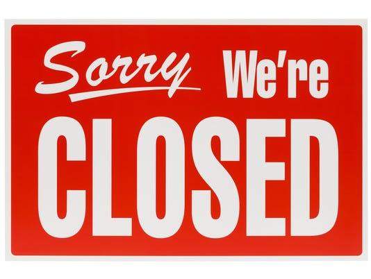 ELM closed-sign-shutterstock-146532536
