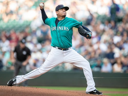 The Mariners have placed Felix Hernandez on the disabled