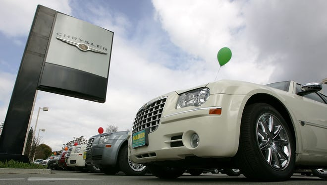 A Chrysler dealer like one of those receiving subpoenas in a probe.