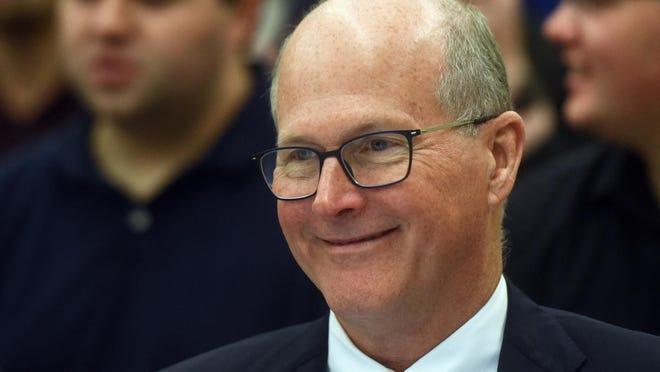 James Dean Jr., president of the University of New Hampshire. Deb Cram