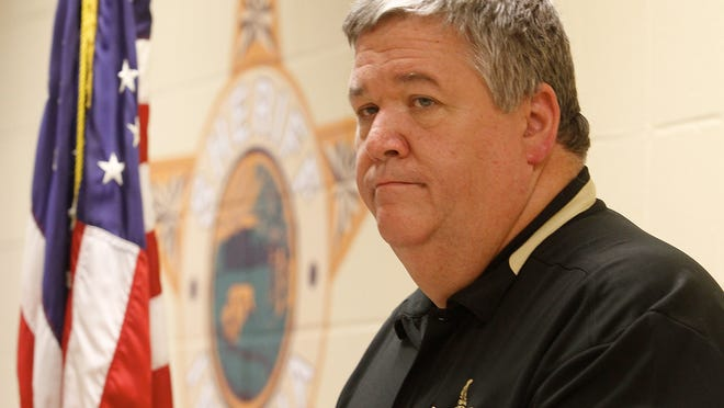 Clark County Indiana sheriff Danny Rodden (By Bill Luster, The Courier-Journal) August 2, 2011