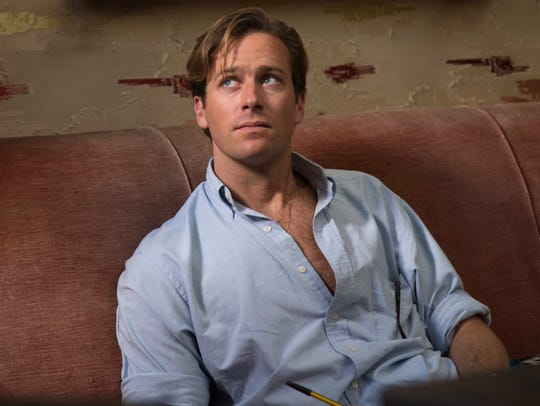 "Armie Hammer stars in ""Call Me By Your Name."""