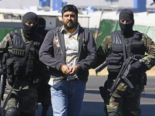 Alleged drug cartel kingpin extradited to U S
