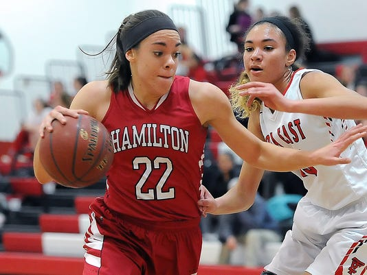 Girls Basketball: Sussex Hamilton at Wawatosa Eas
