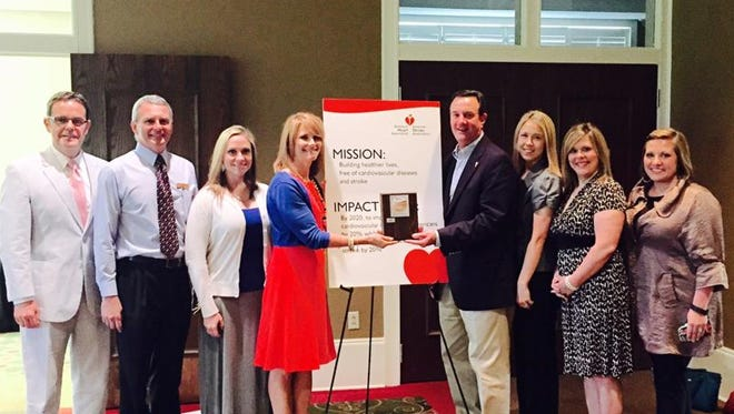 The American Heart Association recognized First State Bank as a Fit-Friendly Company.