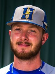 Henderson Flash infielder Paul Haupt