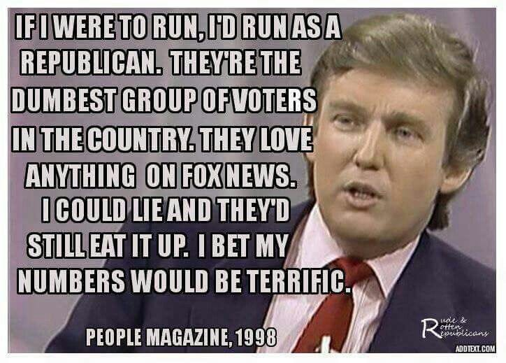 635853512231271622 0b283a5a331d8fec94b3ffdd94e658ba fact check did trump say in '98 republicans are dumb?